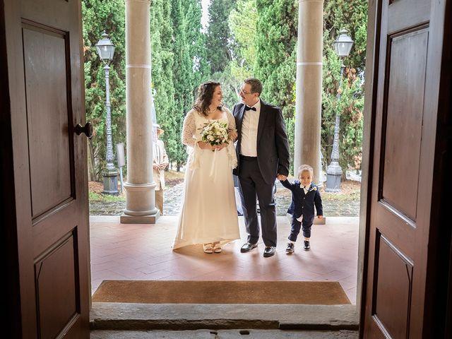 Il matrimonio di Davide e Irene a San Casciano in Val di Pesa, Firenze 20