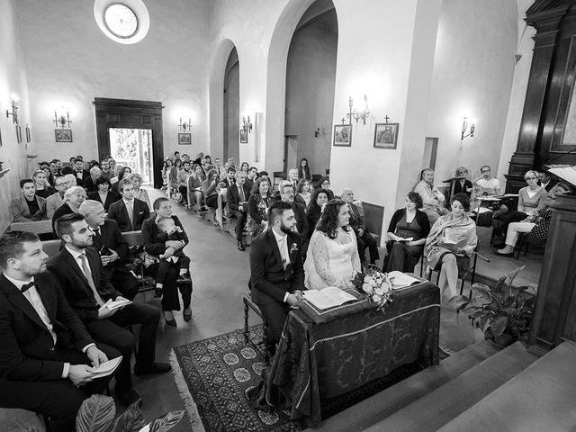 Il matrimonio di Davide e Irene a San Casciano in Val di Pesa, Firenze 24
