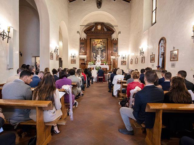 Il matrimonio di Davide e Irene a San Casciano in Val di Pesa, Firenze 28