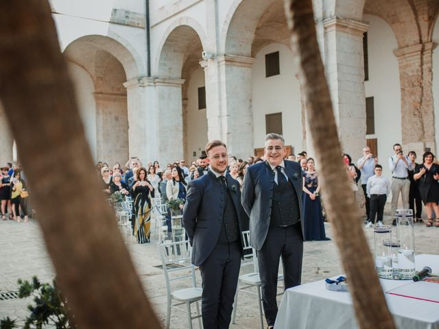 Il matrimonio di Giovanni e Piero a Ostuni, Brindisi 28