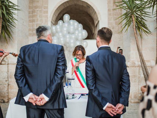 Il matrimonio di Giovanni e Piero a Ostuni, Brindisi 31