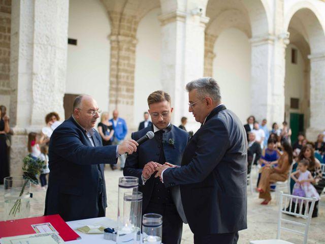 Il matrimonio di Giovanni e Piero a Ostuni, Brindisi 37