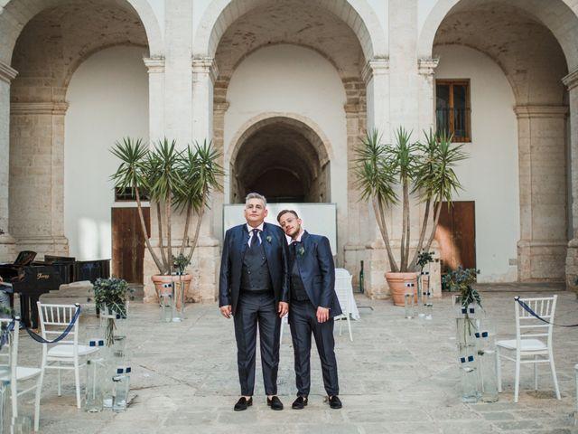 Il matrimonio di Giovanni e Piero a Ostuni, Brindisi 45