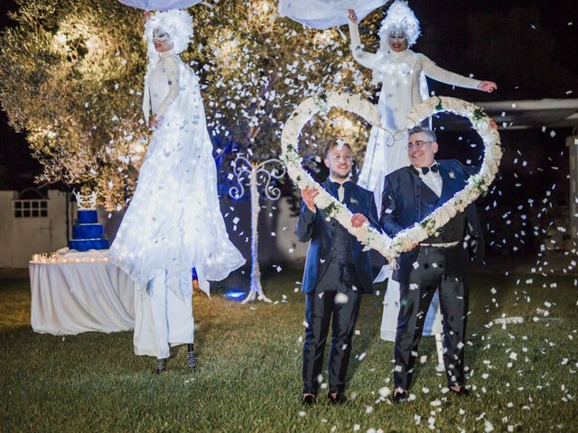 Il matrimonio di Giovanni e Piero a Ostuni, Brindisi 90
