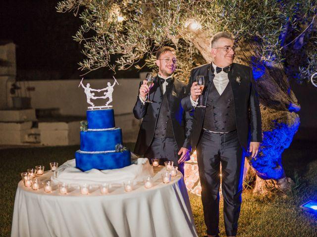 Il matrimonio di Giovanni e Piero a Ostuni, Brindisi 92