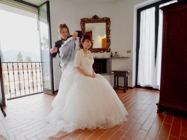Il matrimonio di Davide e Aya a Lierna, Lecco 24