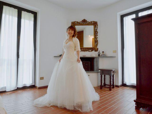 Il matrimonio di Davide e Aya a Lierna, Lecco 25