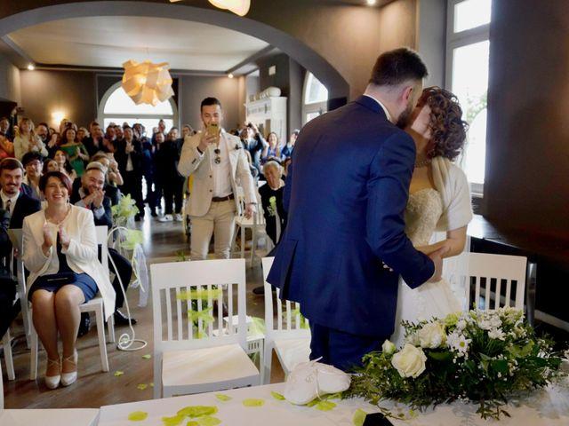 Il matrimonio di Davide e Aya a Lierna, Lecco 32