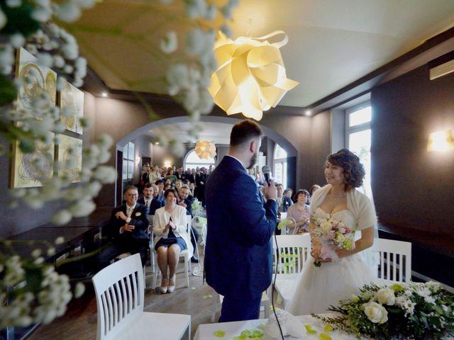 Il matrimonio di Davide e Aya a Lierna, Lecco 33