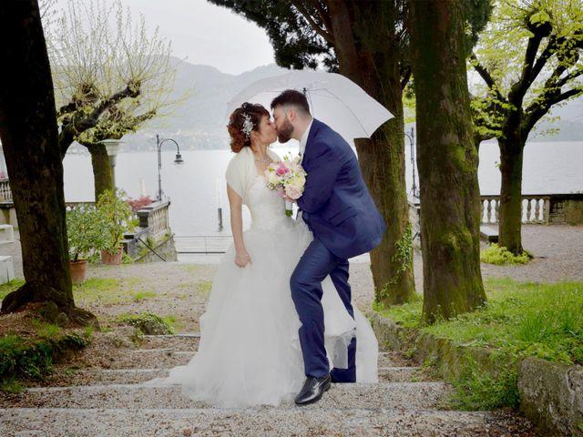 Il matrimonio di Davide e Aya a Lierna, Lecco 35