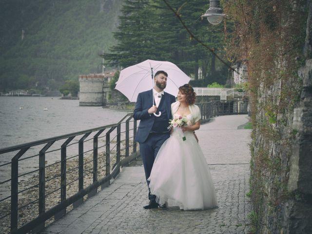 Il matrimonio di Davide e Aya a Lierna, Lecco 37