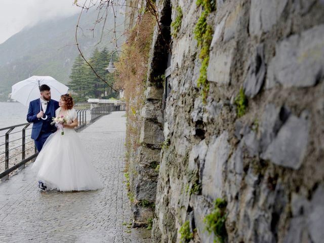 Il matrimonio di Davide e Aya a Lierna, Lecco 38