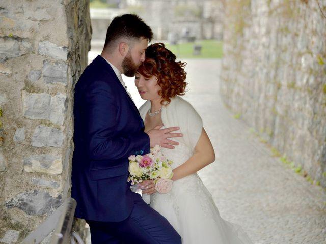 Il matrimonio di Davide e Aya a Lierna, Lecco 40