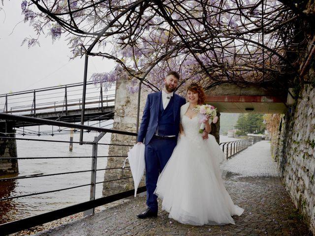 Il matrimonio di Davide e Aya a Lierna, Lecco 41