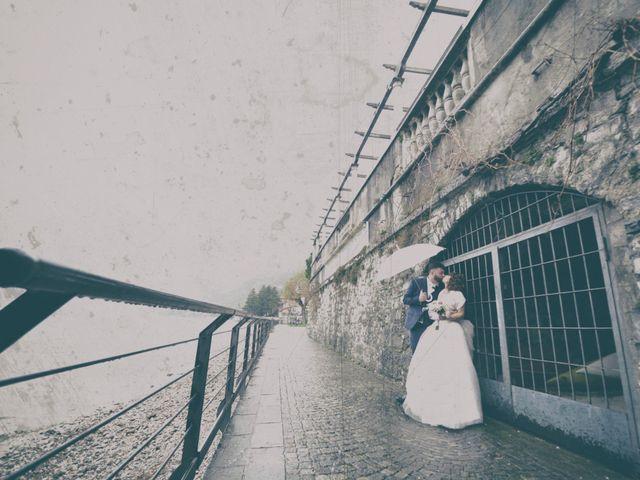 Il matrimonio di Davide e Aya a Lierna, Lecco 42