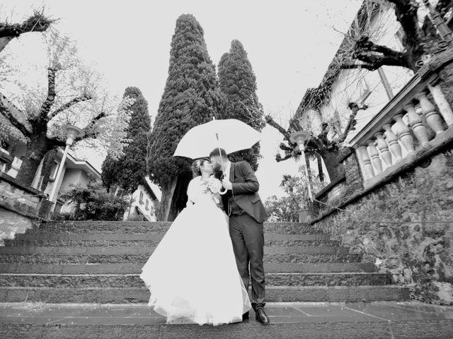Il matrimonio di Davide e Aya a Lierna, Lecco 43