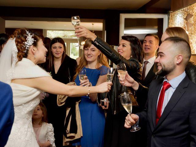 Il matrimonio di Davide e Aya a Lierna, Lecco 45