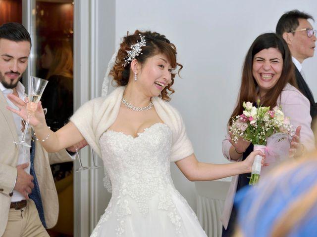 Il matrimonio di Davide e Aya a Lierna, Lecco 46