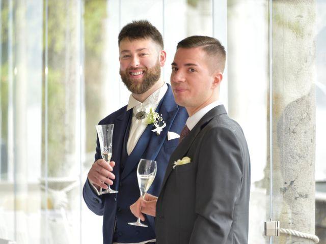 Il matrimonio di Davide e Aya a Lierna, Lecco 47