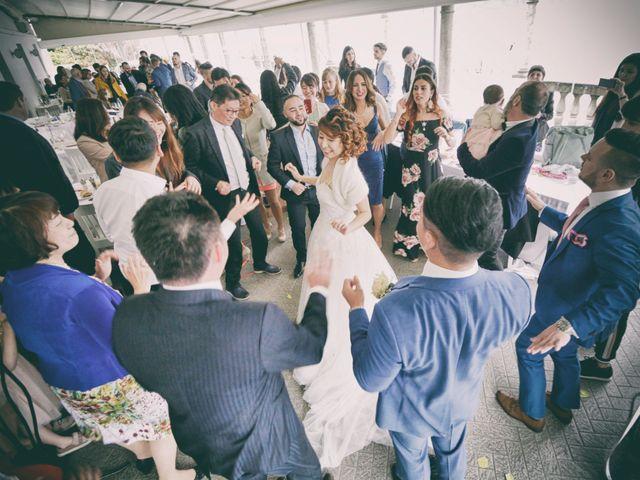 Il matrimonio di Davide e Aya a Lierna, Lecco 53