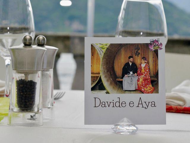 Il matrimonio di Davide e Aya a Lierna, Lecco 57