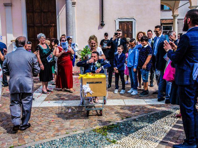 Il matrimonio di Enrico e Tiziana a Cerro Maggiore, Milano 32