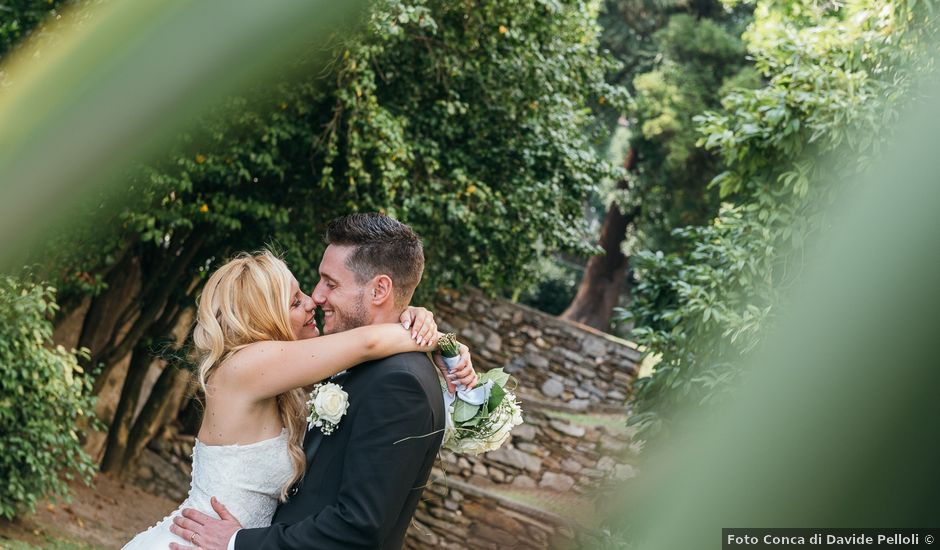 Il matrimonio di Matteo e Celeste a Gravedona, Como