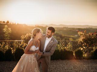 Le nozze di Isabelle e Andrew