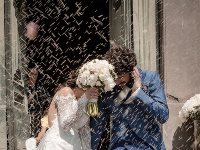 Il matrimonio di Marco e Giusi a San Miniato, Pisa 18