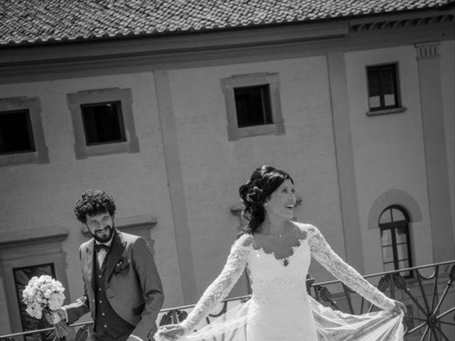 Il matrimonio di Marco e Giusi a San Miniato, Pisa 20