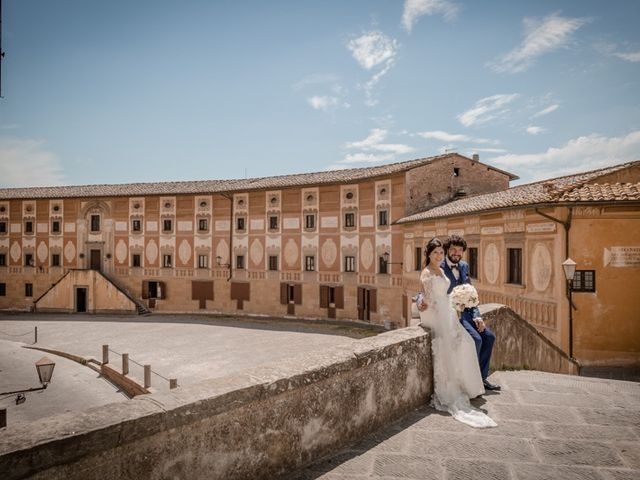 Il matrimonio di Marco e Giusi a San Miniato, Pisa 26