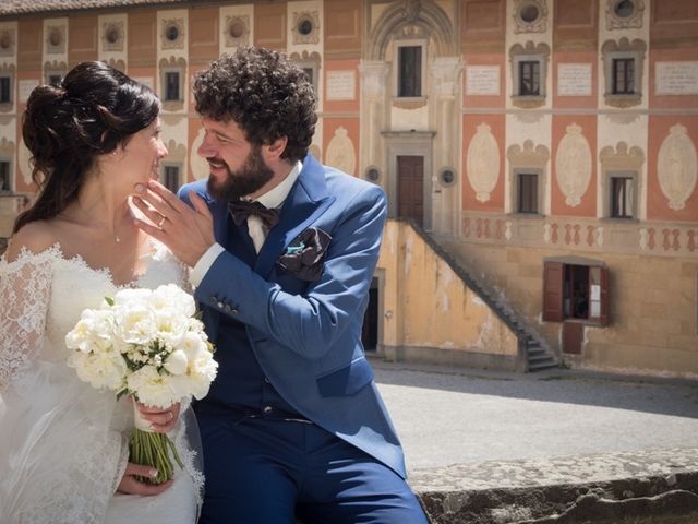 Il matrimonio di Marco e Giusi a San Miniato, Pisa 27