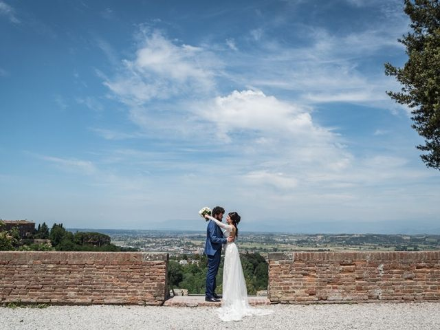Il matrimonio di Marco e Giusi a San Miniato, Pisa 28