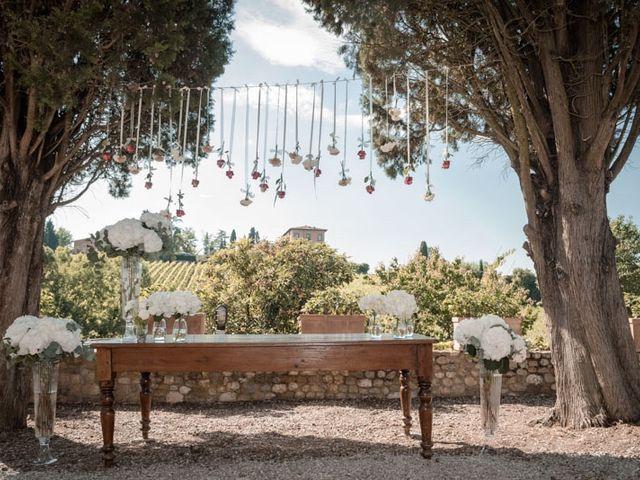 Il matrimonio di Marco e Giusi a San Miniato, Pisa 30