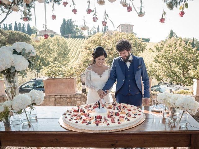 Il matrimonio di Marco e Giusi a San Miniato, Pisa 31