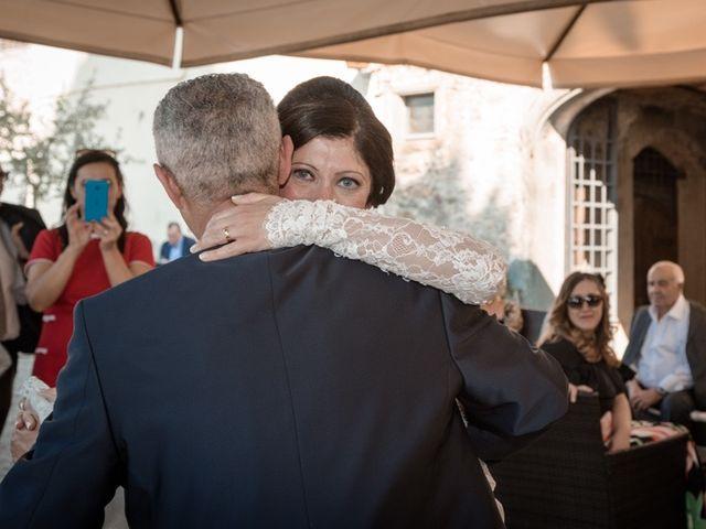 Il matrimonio di Marco e Giusi a San Miniato, Pisa 36