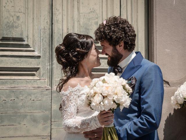 Il matrimonio di Marco e Giusi a San Miniato, Pisa 19