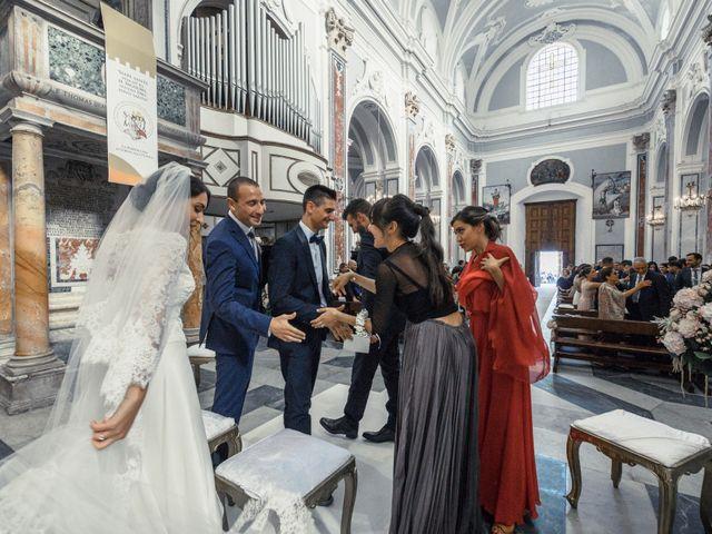 Il matrimonio di Gianluca e Grazia a Ravello, Salerno 27
