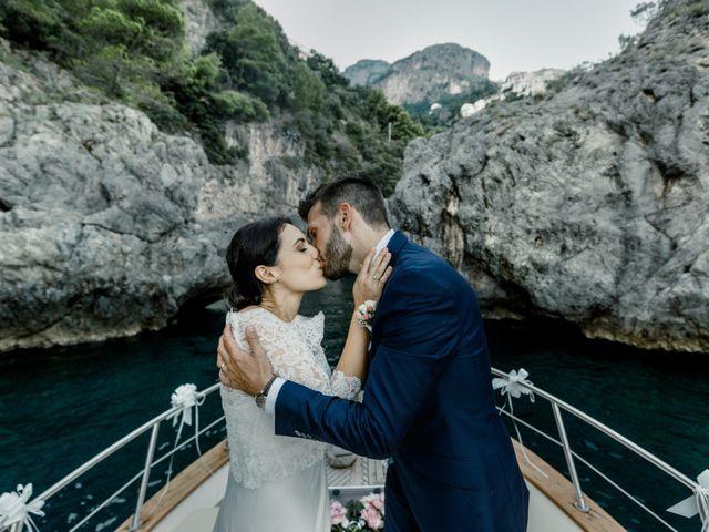 Il matrimonio di Gianluca e Grazia a Ravello, Salerno 33