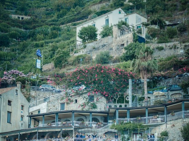 Il matrimonio di Gianluca e Grazia a Ravello, Salerno 34