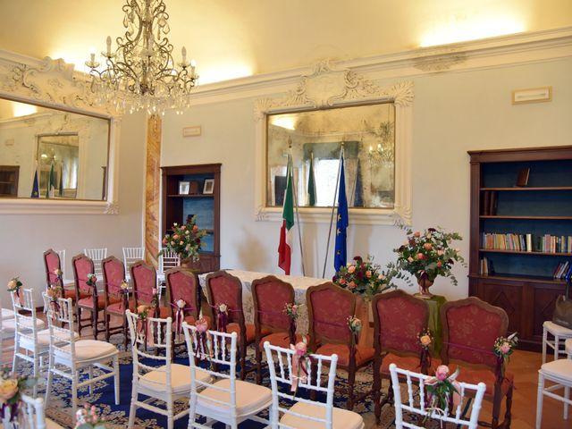 Il matrimonio di Emanuele e Francersca a Gubbio, Perugia 1
