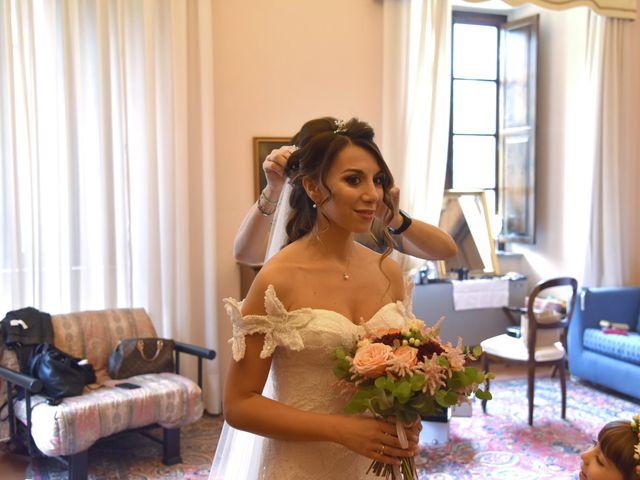 Il matrimonio di Emanuele e Francersca a Gubbio, Perugia 8