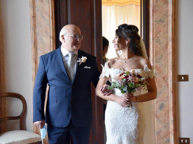 Il matrimonio di Emanuele e Francersca a Gubbio, Perugia 9