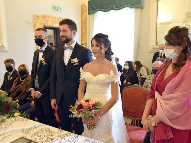 Il matrimonio di Emanuele e Francersca a Gubbio, Perugia 16