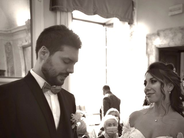 Il matrimonio di Emanuele e Francersca a Gubbio, Perugia 23