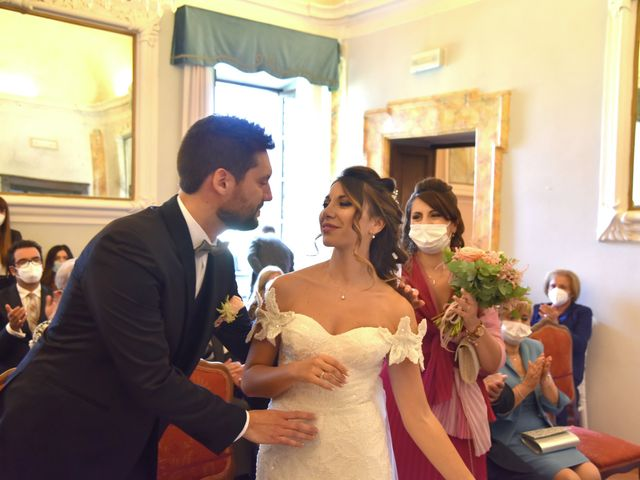 Il matrimonio di Emanuele e Francersca a Gubbio, Perugia 26