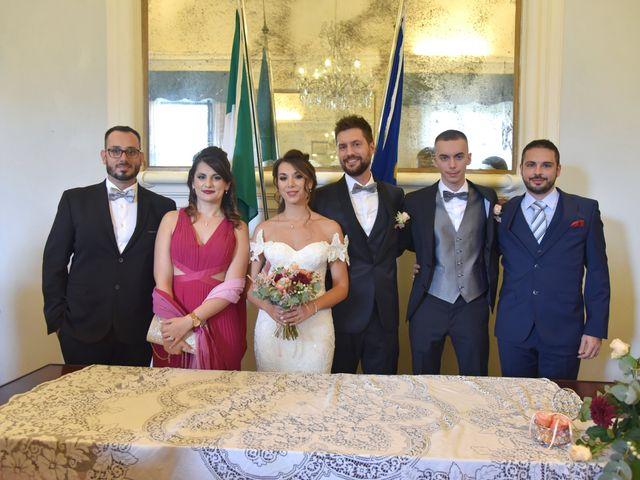 Il matrimonio di Emanuele e Francersca a Gubbio, Perugia 34