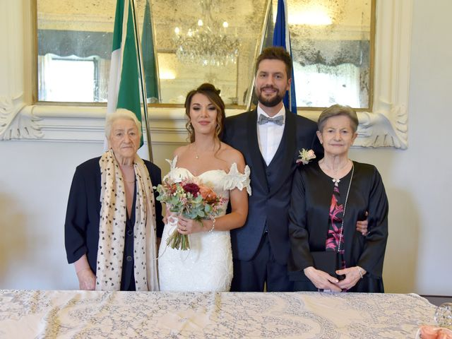 Il matrimonio di Emanuele e Francersca a Gubbio, Perugia 36