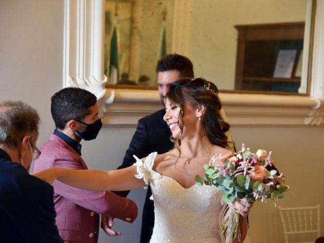 Il matrimonio di Emanuele e Francersca a Gubbio, Perugia 41