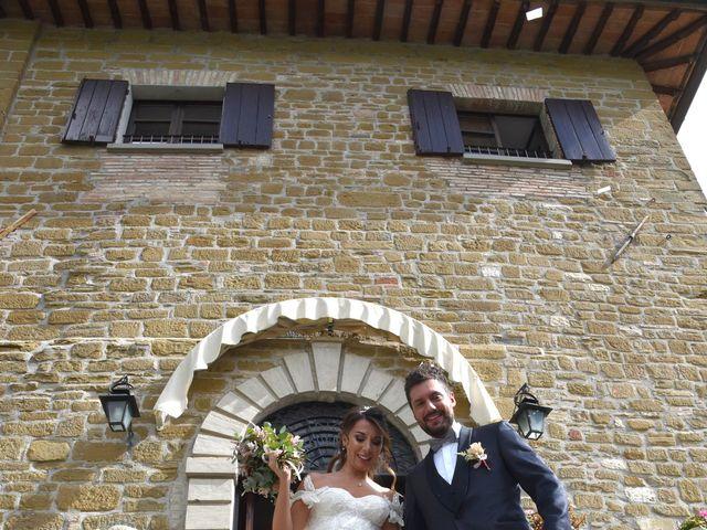 Il matrimonio di Emanuele e Francersca a Gubbio, Perugia 42